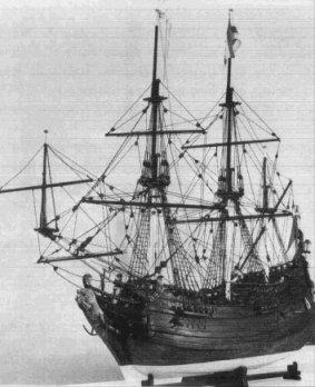 Model van een fluitschip, Collectie Westfries Museum